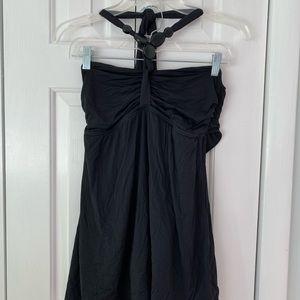 Carmen Marc Valvo Black one-piece Swim Dress - 10